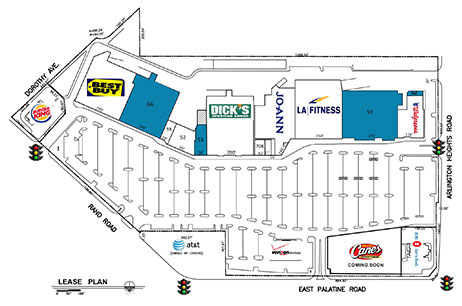 Town & Country Site Plan