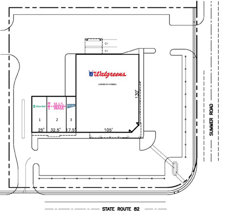 The Plaza at SouthPark Site Plan