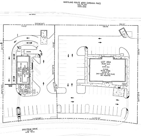 Frederick, MD Site Plan