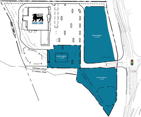 Long Beach Crossing Site Plan