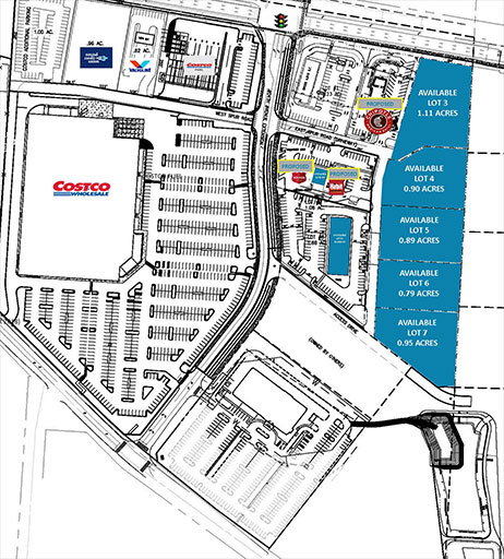 Mountain View Marketplace Site Plan