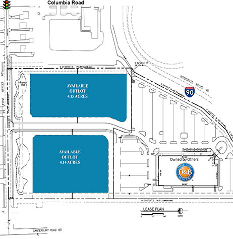 Columbia Commons Site Plan